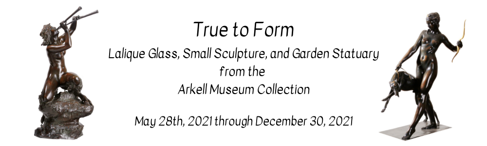True to Form Lalique Glass, Small Sculpture, and Garden Statuary from the Arkell Museum Collection