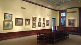 An art museum gallery